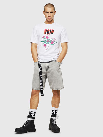 Diesel - T-JUST-A2, White - T-Shirts - Image 4