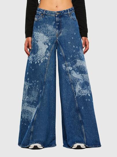 Diesel - D-Spritzz 009GV, Medium blue - Jeans - Image 1