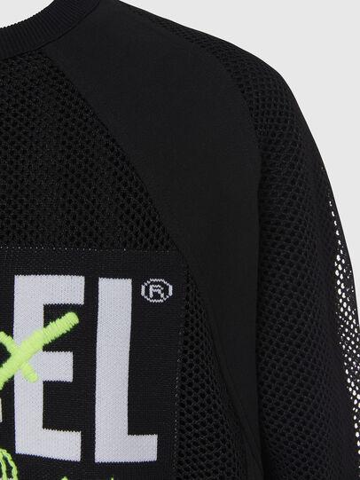 Diesel - M-PORTIA, Black - Knitwear - Image 4