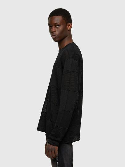Diesel - K-MERCURY, Black - Knitwear - Image 4