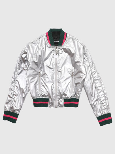 Diesel - JNOTE, Silver - Jackets - Image 1