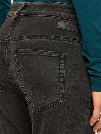 Diesel - FAYZA JoggJeans® 009HM, Black/Dark grey - Jeans - Image 4