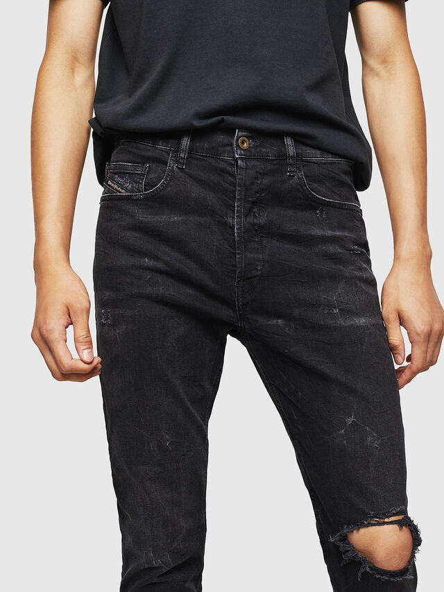 Diesel - D-Eetar 069DV, Black/Dark grey - Jeans - Image 3