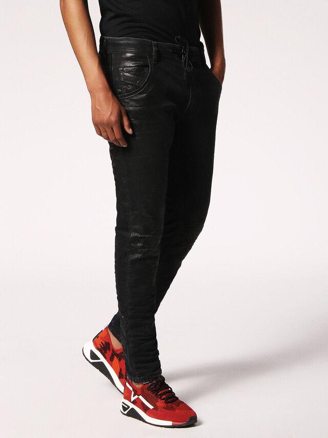 Diesel - KROOLEY CB JOGGJEANS 084JB, Black Jeans - Jeans - Image 3