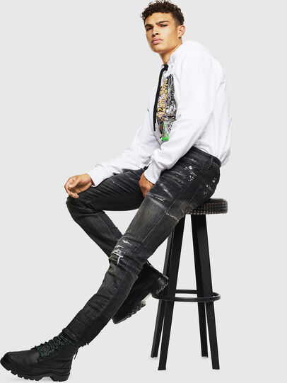 Diesel - S-ALBY-D1, White - Sweaters - Image 6