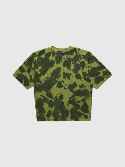 Diesel - PR-TS01, Green - T-Shirts - Image 1