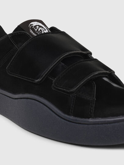 Diesel - S-CLEVER LOW STRAP W, Black - Sneakers - Image 4