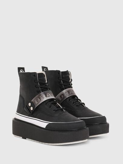 Diesel - H-SCIROCCO STRAP, Black - Sneakers - Image 2