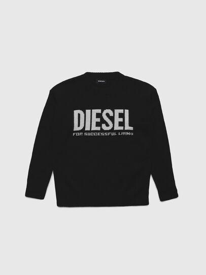 Diesel - KLOGOSX, Black - Knitwear - Image 1