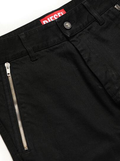 Diesel - GR02-P301, Black - Pants - Image 3
