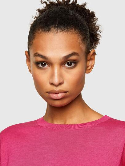 Diesel - M-JADE, Hot pink - Knitwear - Image 3