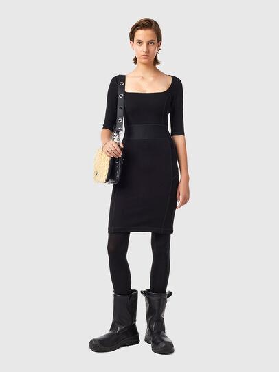 Diesel - D-SUBBY, Black - Dresses - Image 1