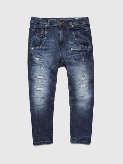 Diesel - FAYZA-J JOGGJEANS-N, Medium blue - Jeans - Image 1