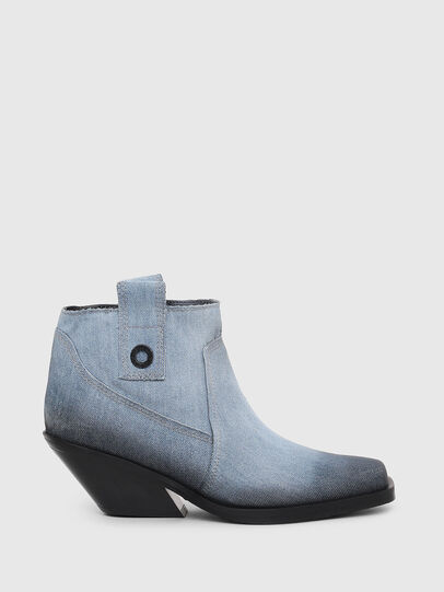 Diesel - D-GIUDECCA MAB, Blue Jeans - Ankle Boots - Image 1