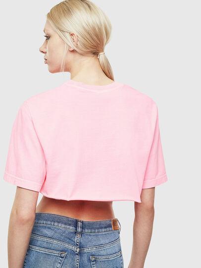 Diesel - T-CROPPY, Pink - T-Shirts - Image 4