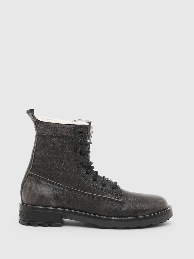 D-THROUPER DBB W, Dark grey - Ankle Boots