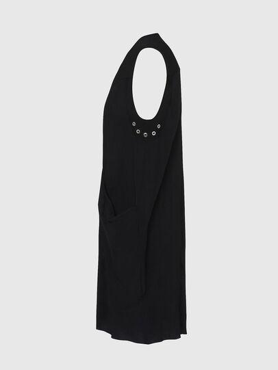 Diesel - D-EVEN-A, Black - Dresses - Image 3
