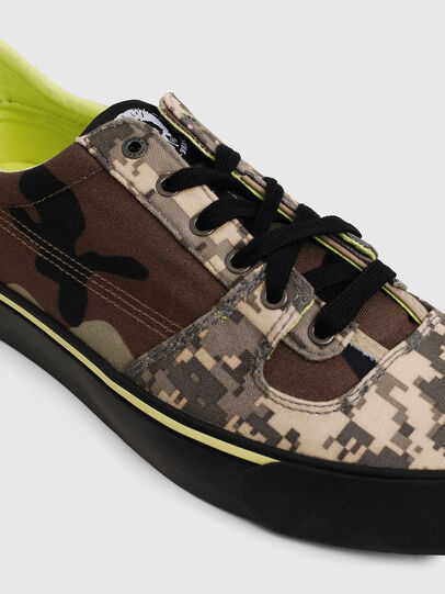Diesel - S-FLIP LOW, Marron Military - Sneakers - Image 4