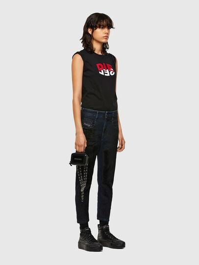Diesel - Fayza 009QD, Dark Blue - Jeans - Image 6