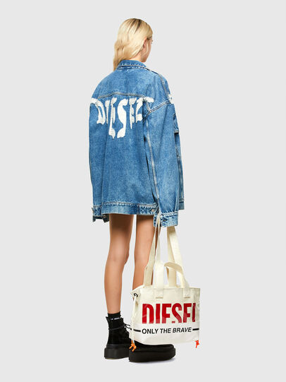 Diesel - ASTI, White - Shopping and Shoulder Bags - Image 6