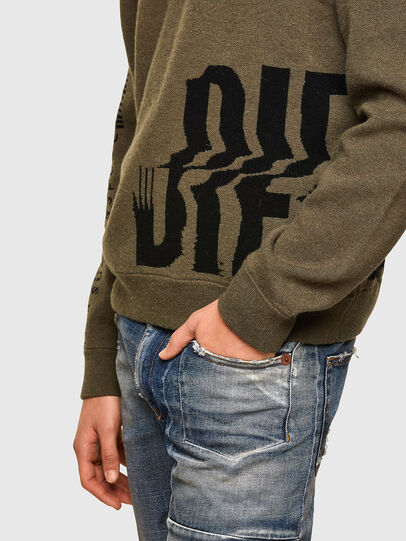 Diesel - K-MARRA, Military Green - Knitwear - Image 4