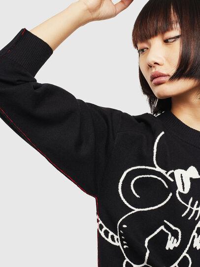 Diesel - CL-M-TESS, Black - Knitwear - Image 3