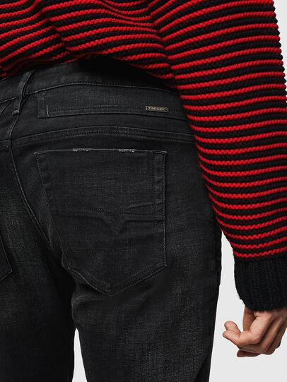Diesel - D-Bazer 0098B, Black/Dark grey - Jeans - Image 4