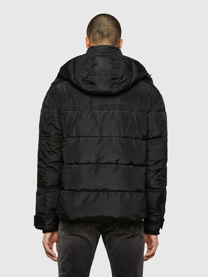 Diesel - W-RUSSELL-WH, Black - Winter Jackets - Image 2