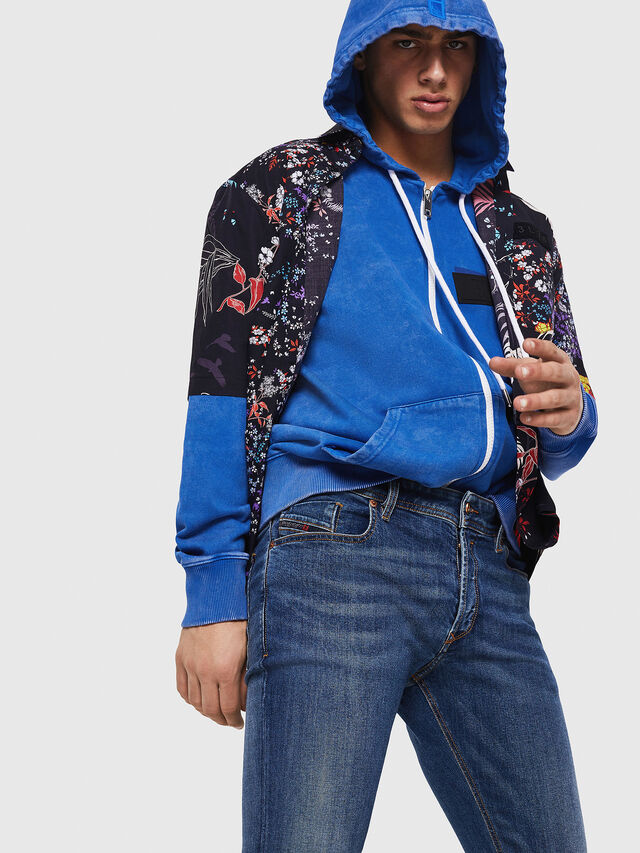Diesel - Sleenker 069AJ, Medium blue - Jeans - Image 5