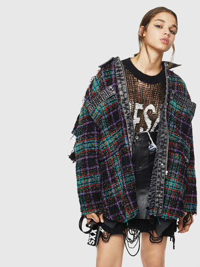 Diesel - G-LERA, Multicolor/Black - Jackets - Image 4