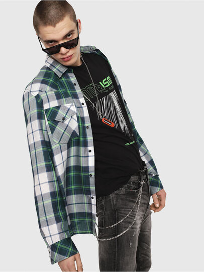 Diesel - S-EAST-LONG-F,  - Shirts - Image 3