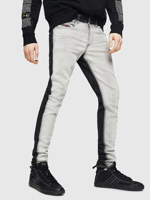 Sleenker 082AX, Black/Dark grey - Jeans