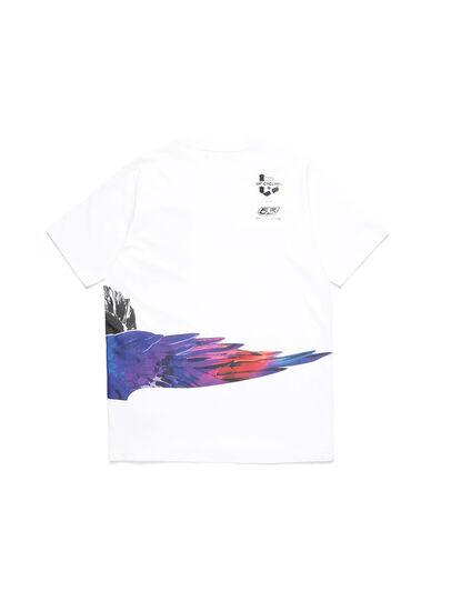 Diesel - D-5055-W, White - T-Shirts - Image 2