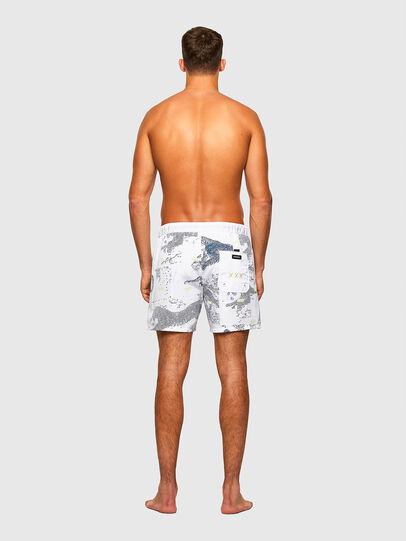 Diesel - BMBX-WAVE 2.017, White - Swim shorts - Image 2