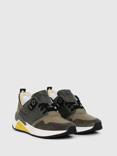 Diesel - S-BRENTHA LC, Military Green - Sneakers - Image 2