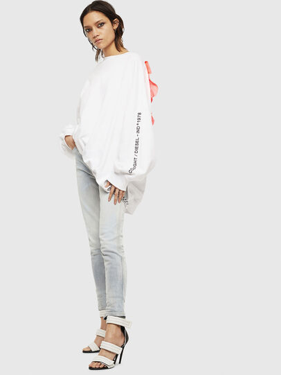 Diesel - F-JUSTIN, White - Sweaters - Image 6