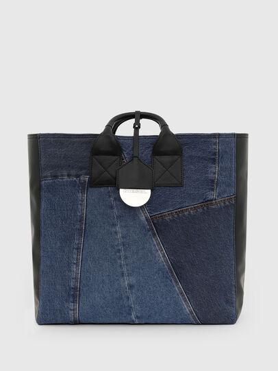 Diesel - LEENA, Blue - Shopping and Shoulder Bags - Image 1