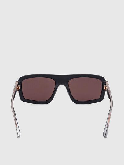 Diesel - DL0348, Black/Red - Sunglasses - Image 4