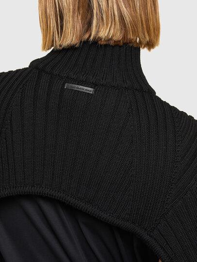 Diesel - M-BENAZIR, Black - Knitwear - Image 4