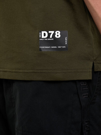 Diesel - T-HARLY, Military Green - Polos - Image 4
