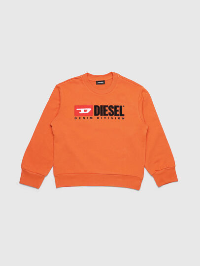 Diesel - SCREWDIVISION OVER, Orange - Sweaters - Image 1