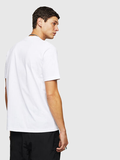 Diesel - T-JUST-B24, White - T-Shirts - Image 2