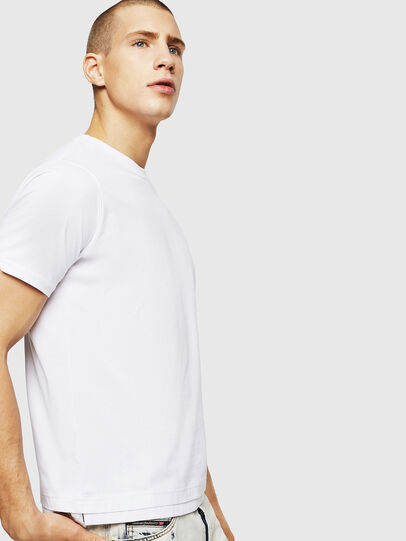 Diesel - T-DIAMANTIK-NEW, White - T-Shirts - Image 4