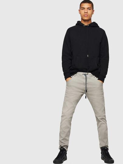 Diesel - Krooley JoggJeans 0670M, Light Grey - Jeans - Image 5