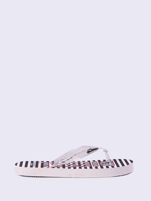 FF 12 STRIPE YO, Black/White