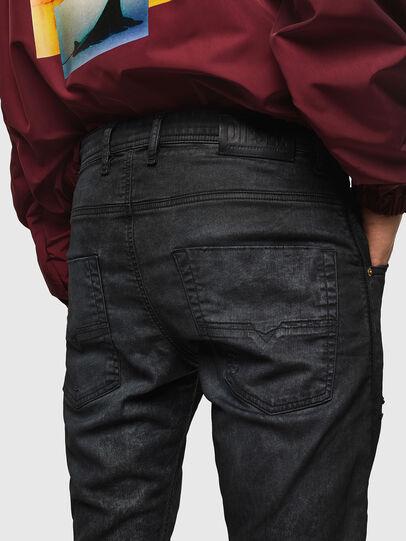 Diesel - Krooley JoggJeans 069GP, Black/Dark grey - Jeans - Image 5
