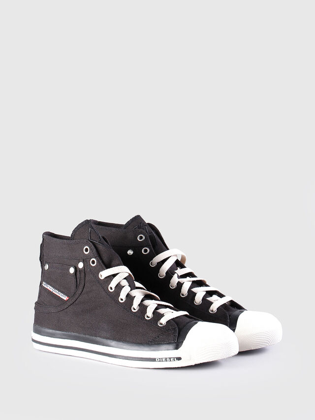 Diesel EXPOSURE, Black - Sneakers - Image 3