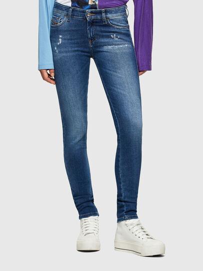 Diesel - Slandy 009PU, Medium blue - Jeans - Image 1