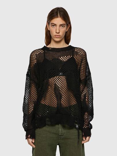 Diesel - M-MISSOURI, Black - Knitwear - Image 1