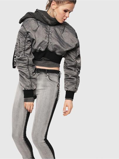 Diesel - Babhila 081AG, Black/Dark grey - Jeans - Image 5